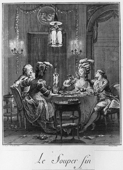 Jeudi 13 mars s minaire l inha paris la salle manger au xviiie si cle le repas - La salle a manger paris ...