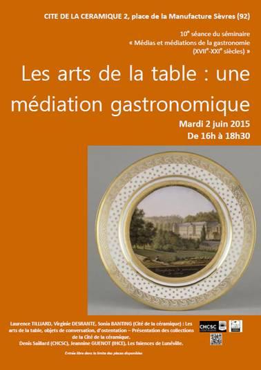 les arts de la table une m diation gastronomique le repas gastronomique des francais. Black Bedroom Furniture Sets. Home Design Ideas